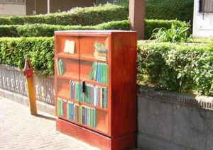 painted-book-shelve-electrical-box